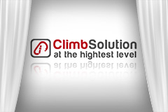 Logo ClimbSolution at the hightest level