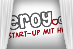 Logo Eroy Start-up mit Herz
