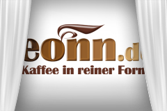 Logo Kaffe in reiner Form