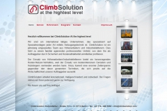 Webdesign ClimbSolution Industrieklettern